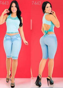pantalones cortos colombianos