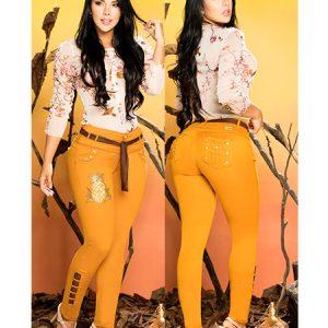 Pantalones colombianos en Madrid