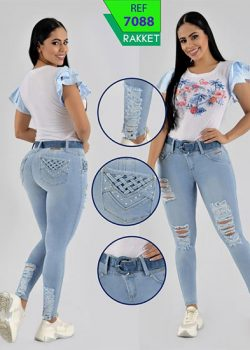 pantalones colombianos mujer